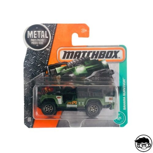 Matchbox Sahara survivor MBX Explorers 122 125 2018 short card