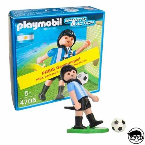Playmobil 4705 Soccer Player - Argentina 2006 Box man