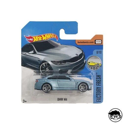 Hot Wheels BMW M4 BMW 154/365 2016 short card