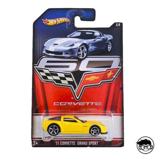 Hot Wheels '11 Corvette Grand Sport Corvette 3/8 2012 short card