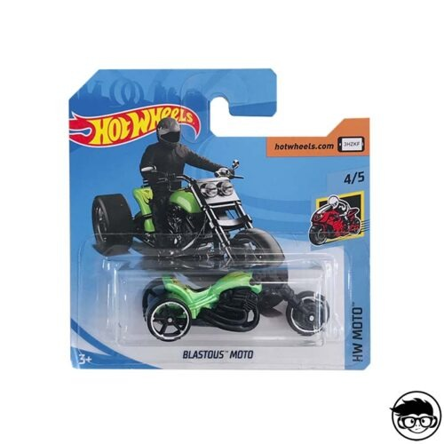 Hot Wheels Blastous Moto HW Moto 10/250 2019 short card