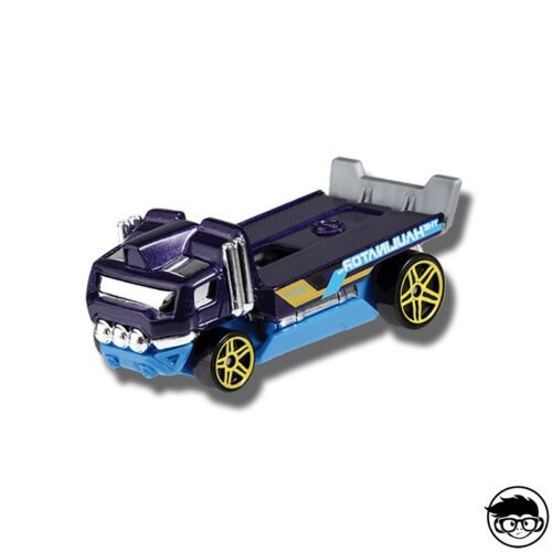Hot Wheels The Haulinator Experimotors 51/250 2019 Race Off short card