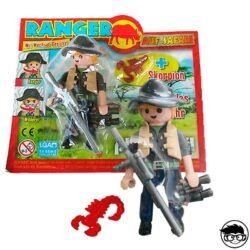 playmobil-magazine-ranger-auf-safari-box-and-loose