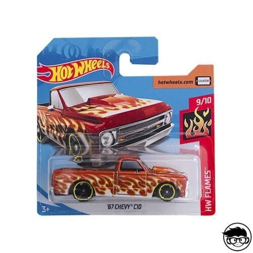 Hot Wheels '67 Chevy C10 HW Flames 176/250 2019 short card
