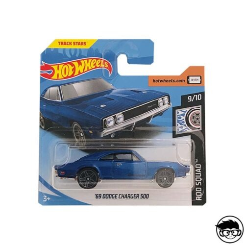Hot Wheels '69 Dodge Charger 500 Rod Squad 80/250 2019 short card