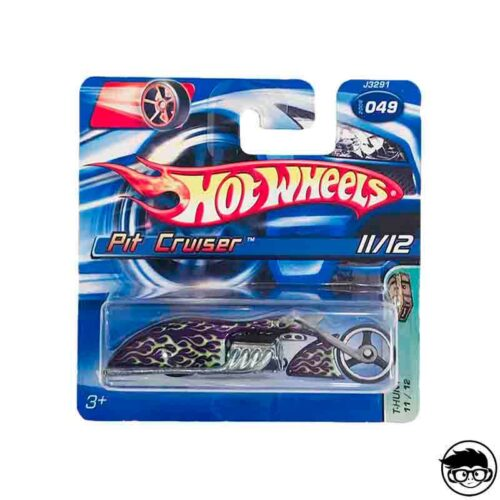 Hot Wheels Pit Cruiser 049 Treasure Hunt 2007 short card