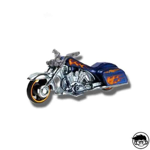 Hot Wheels Bad Bagger HW Moto 133/250 2016 short card Treasure Hunt