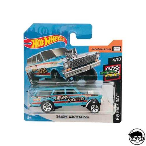 Hot Wheels '64 Nova Wagon Gasser HW Race Day 198/250 2019 short card