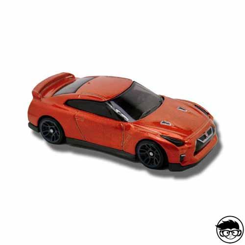 Hot Wheels '17 Nissan GT-R (R35) Nightburnerz 282/365 2016 long card