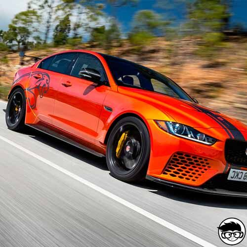 Hot Wheels Jaguar XE SV Project 8 Factory Fresh 244/250 2019 short card