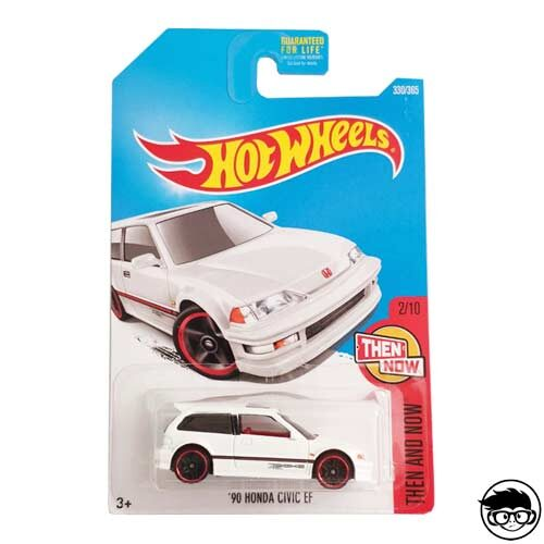Hot Wheels '90 Honda Civic EF Then and Now 330/365 2019 long card