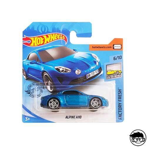 Hot Wheels Alpine A110 Factory Fresh 238/250 2019 short card