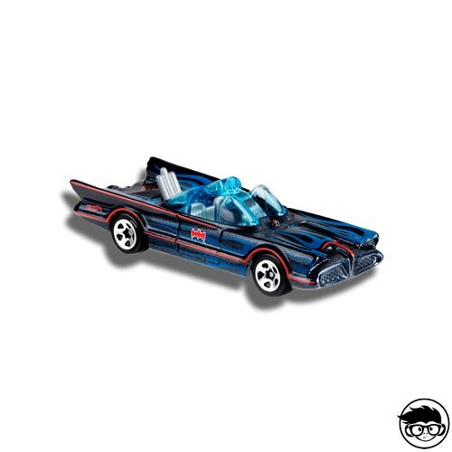Hot Wheels TV Series Batmobile Batman 118/250 2019 short card Loose