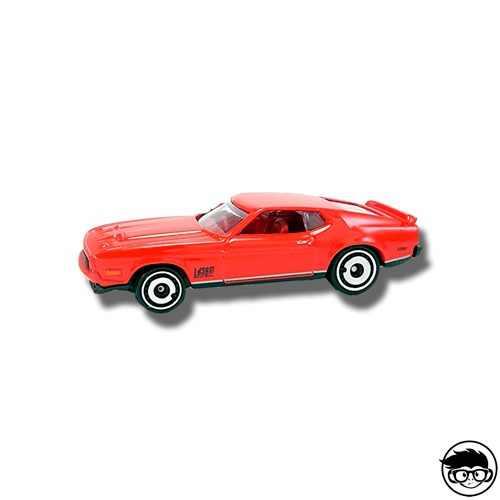 Hot Wheels '71 Mustang Mach 1 HW Screen Time 2/250 2019 short card