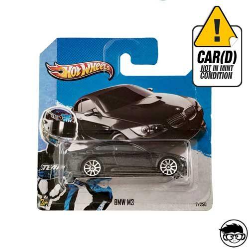 Hot Wheels BMW M3 Hw City 7/250 2013 short card*