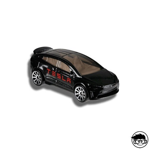 Hot Wheels Tesla Model X HW Metro 328/365 2018 short card Loose
