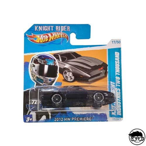 Hot Wheels K.I.T.T. Knight Industries Two Thousand 2012 New Models 17/247 2012 short card