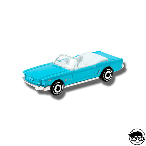Hot Wheels '65 Ford Mustang Convertible HW Screen Time 59/250 2019 short card