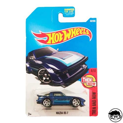 Hot Wheels Mazda RX-7 2012 Then And Now 337/365 2017 long card