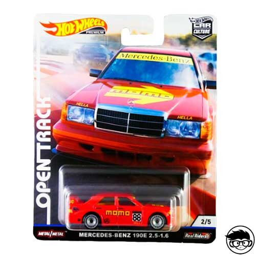 Hot Wheels Mercedes-Benz 190E 2.5-1.6 Open Track 2/5 2019