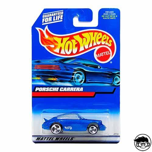 Hot Wheels Porsche Carrera Collector #146 2000 long card