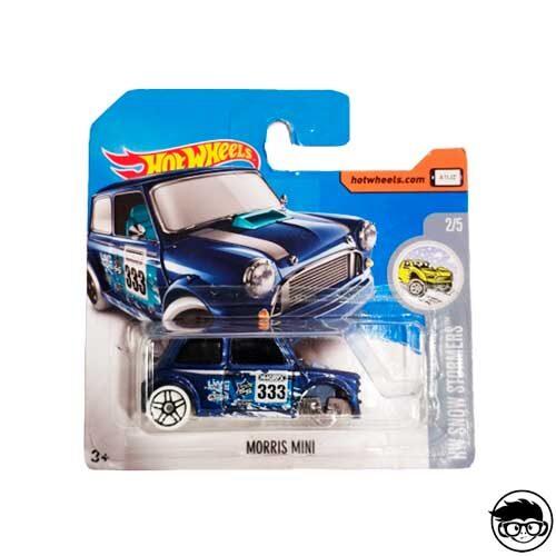 Hot Wheels Morris Mini HW Snow Stormers 137/365 2017 short card (Error)