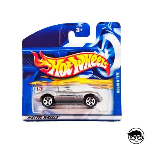 Hot Wheels Jaguar D-Type Collector nº 184 2001 short card