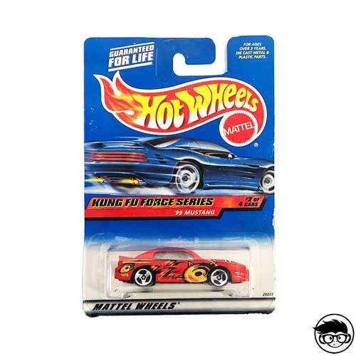Hot-Wheels-Mustang-99-Mustang-Kung-Fu-Force-Series-#2-2000
