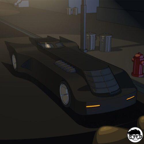 Hot Wheels Batman: The Animated Series Batman 241/250 2019 Treasure Hunt short card