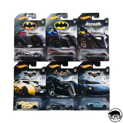 Hot Wheels Batman Series 6 Car Set 2018