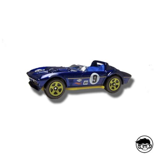 Hot Wheels Corvette Grand Sport Roadster HW Race 179/250 2015 long card Factory Sealed
