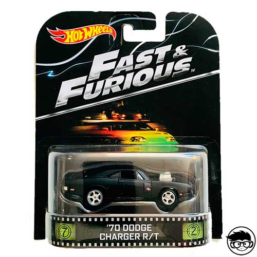 Hot Wheels Fast & Furious '70 Dodge Charger R/T Retro Entertainment 2015