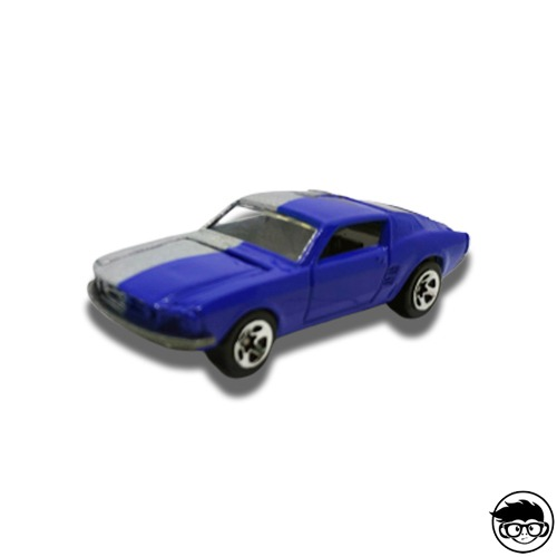 Hot Wheels Mustang Blue 2005 Loose