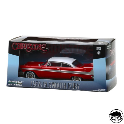 Greenlight Hollywood Christine 1958 Plymouth Fury Limited Edition 1:43 2019