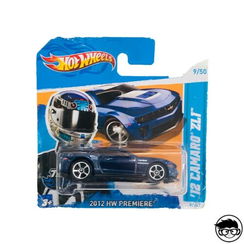 Hot Wheels '12 Camaro ZL1 9/247 2012 short card*