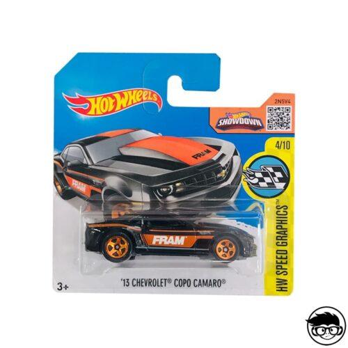 Hot Wheels '13 Chevrolet Copo Camaro 179/250 2016 short card