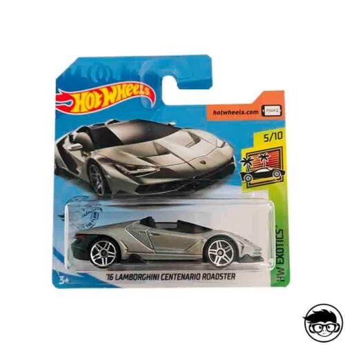 Hot Wheels '16 Lamborghini Centenario Roadster HW Exotics 213/250 2019 short card