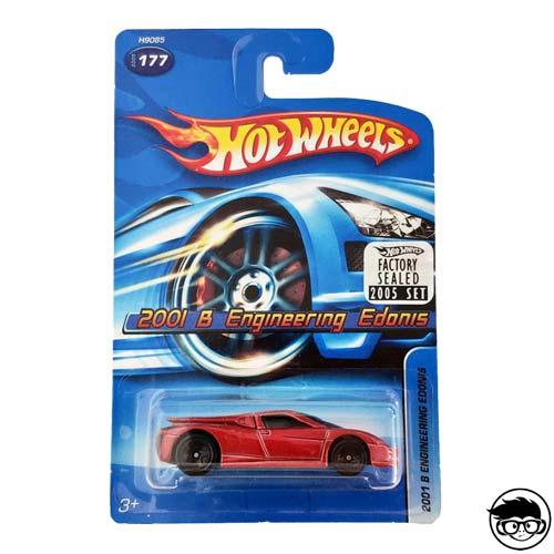 Hot Wheels 2001 B Engineering Edonis 2006 Factory Sealed long card