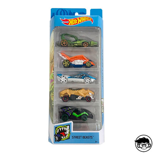 Hot Wheels 5-Pack Street Beasts 2019