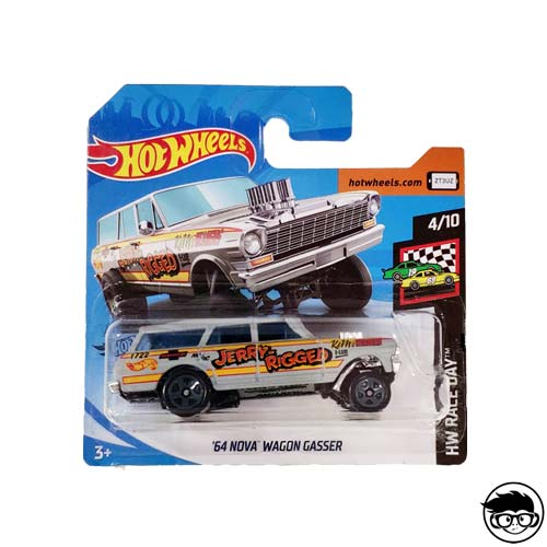 Hot Wheels '64 Nova Wagon Gasser HW Race Day 198/250 2019 short card