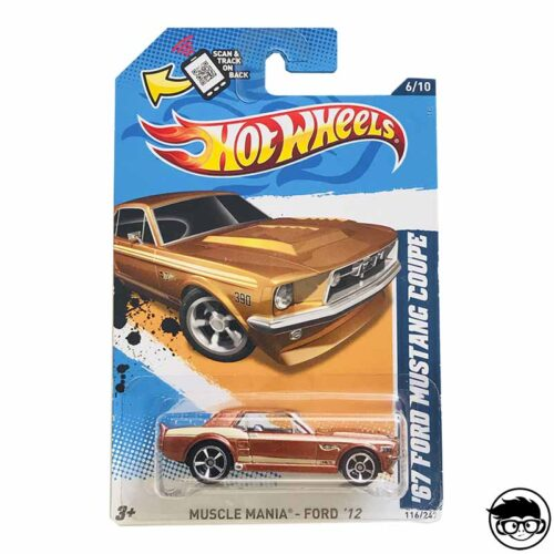 Hot Wheels Ford '12 Muscle Mania '67 Ford Mustang Coupe 116/247 long card