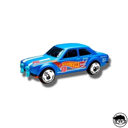 Hot Wheels '70 Ford Escort RS1600 Hw 50th Race Team 335/365 2018 Loose
