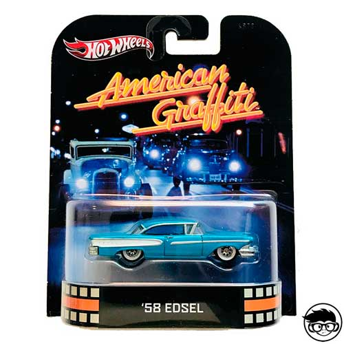 Hot Wheels American Graffiti '58 Edsel Retro Entertainment 2013