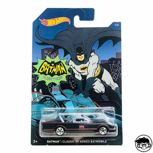 Hot Wheels Batman Classic TV Series Batmobile 1/6 2014 long card