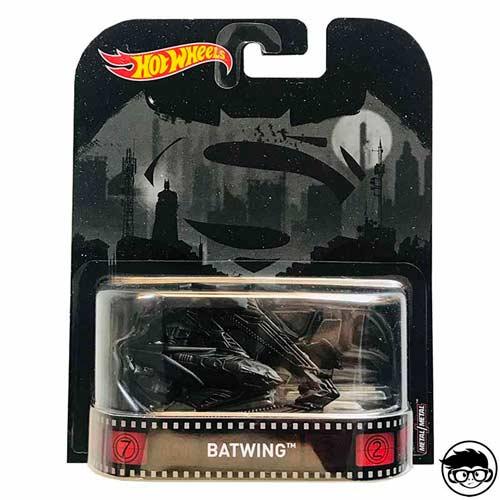 Hot Wheels Batman Batwing Retro Entertainment 2016