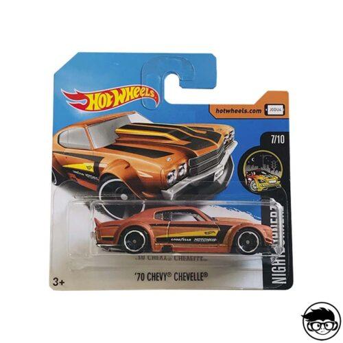 Hot Wheels '70 Chevy Chevelle Nightburnerz 212/365 2017 short card