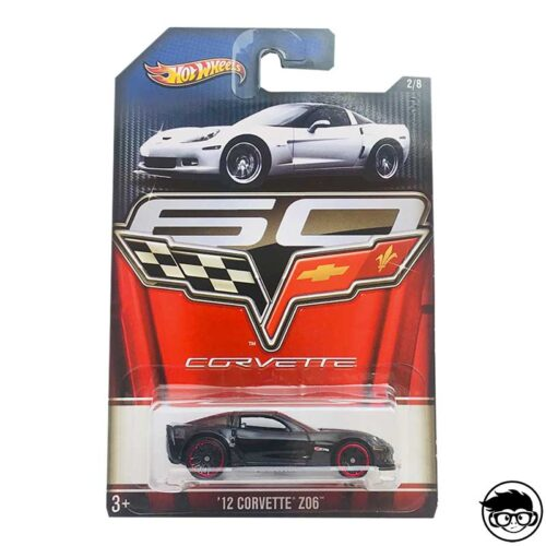 Hot Wheels 12' Corvette Z06 60 Years 2012 long card*