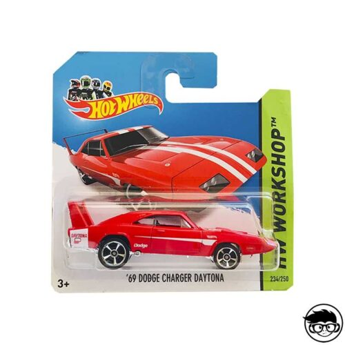 Hot Wheels '69 Dodge Charger Daytona HW Workshop 234/250 2014 short card