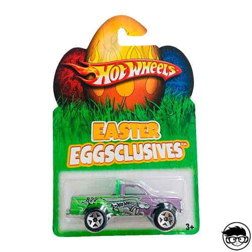 Hot Wheels Easter Egssclusives 2008 long card