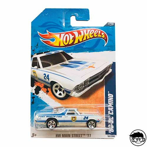 Hot Wheels '69 El Camino Faster than Ever 171 2005 loose car